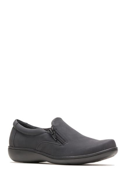 Image of Hush Puppies Joella Zip Side Shoe - Multiple Widths Available