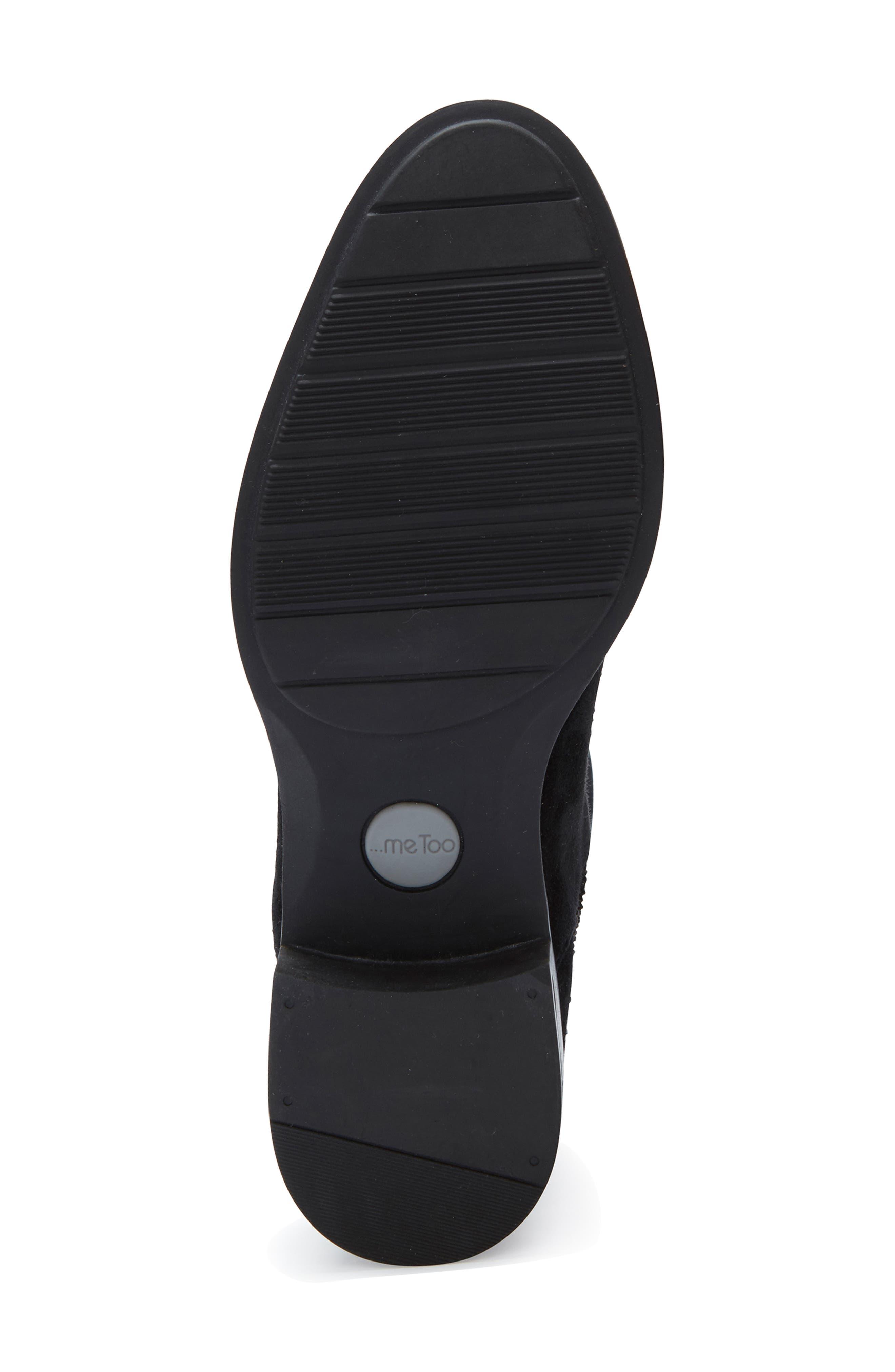 ,                             Striker Boot,                             Alternate thumbnail 6, color,                             BLACK SUEDE
