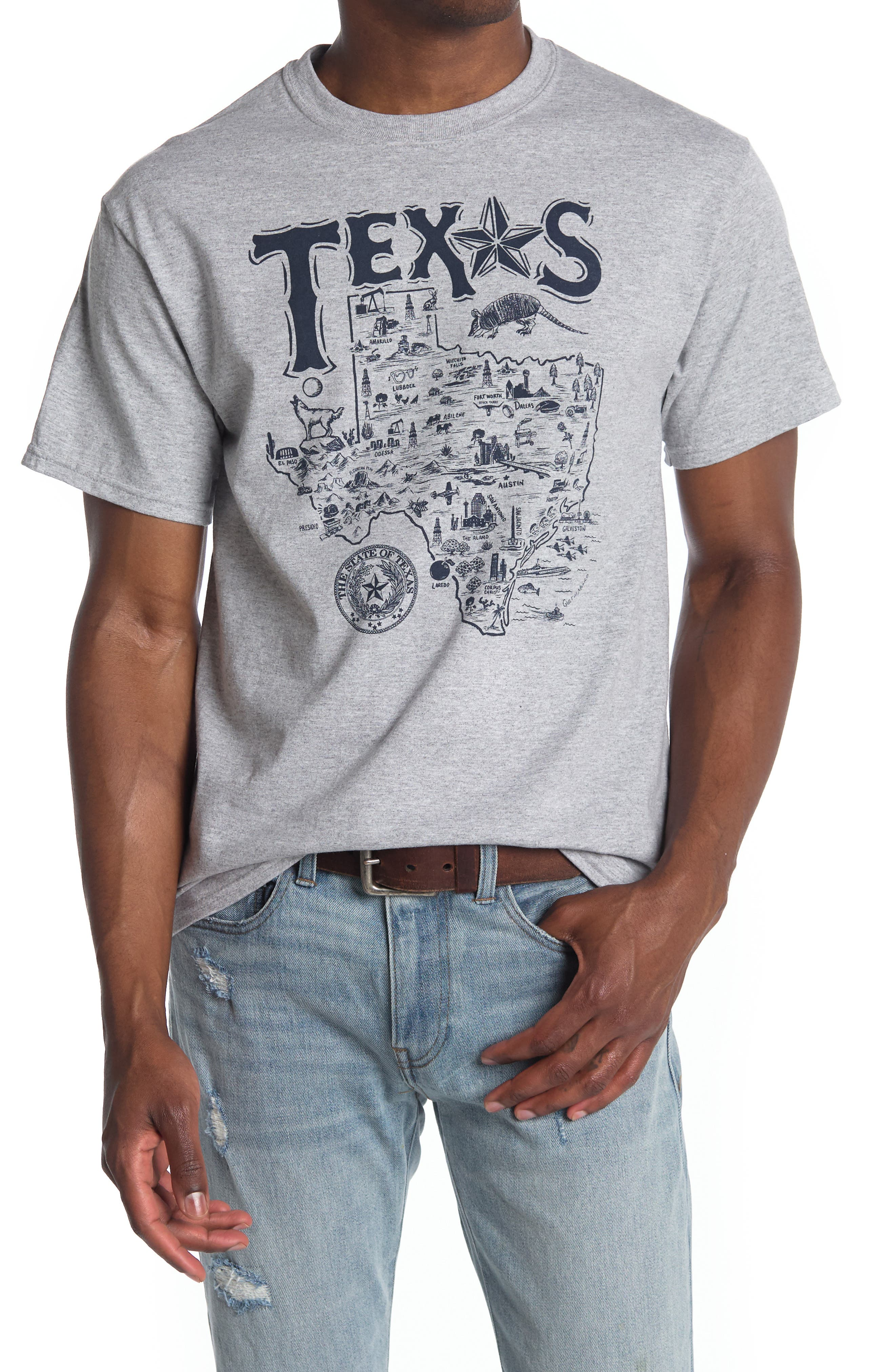 Image of American Needle Destination Texas Graphic T-Shirt