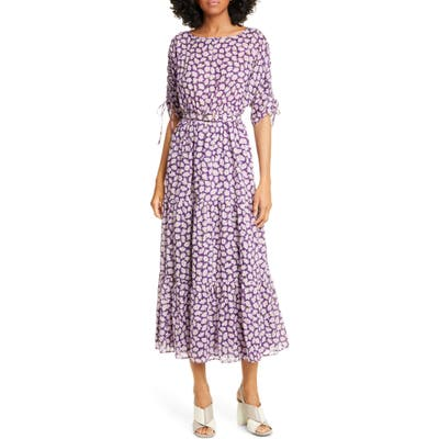 Kate Spade New York Sunny Bloom Cotton Dress, Purple