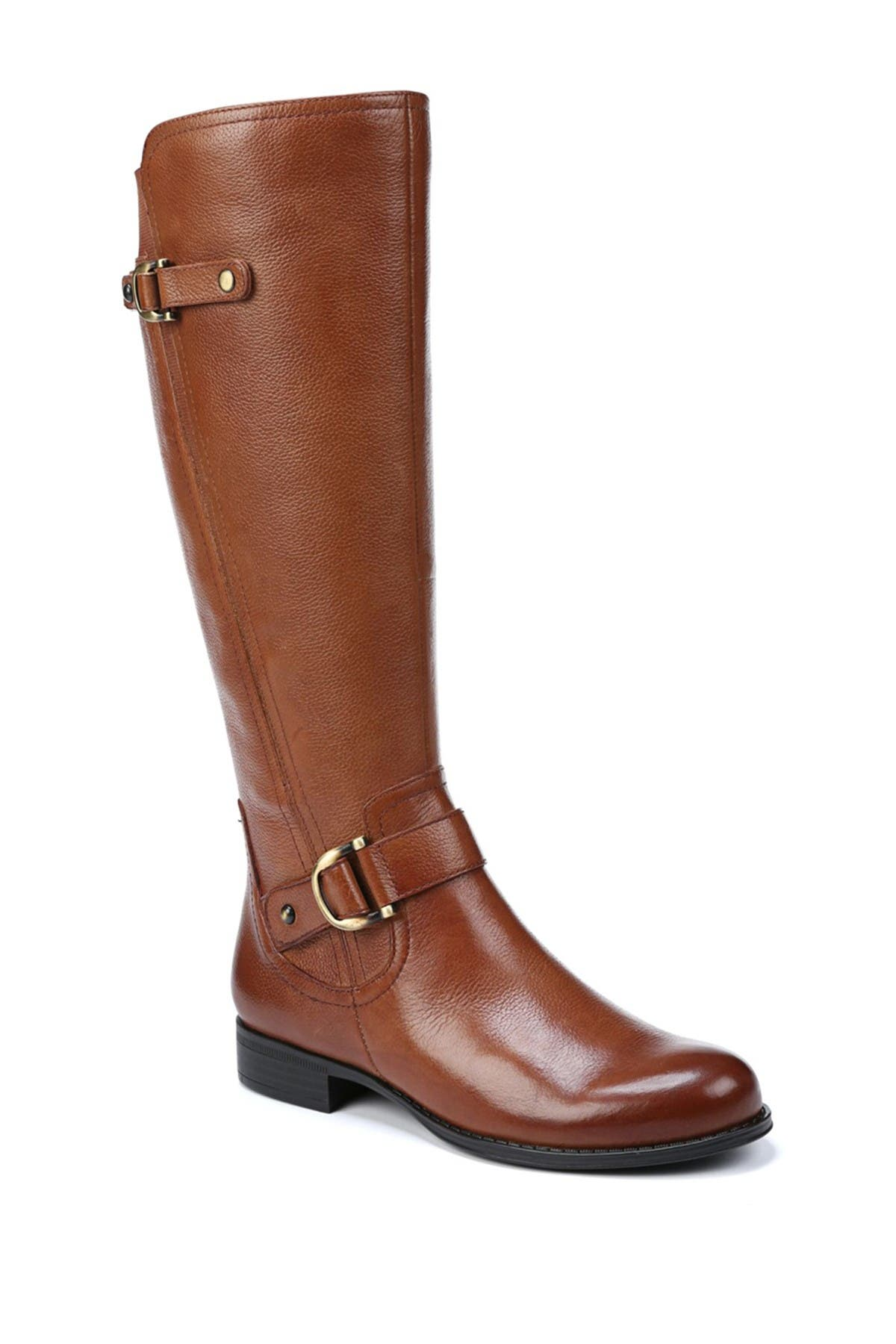 Image of Naturalizer Jillian Knee High Leather Boot - Wide Calf & Wide Width Available