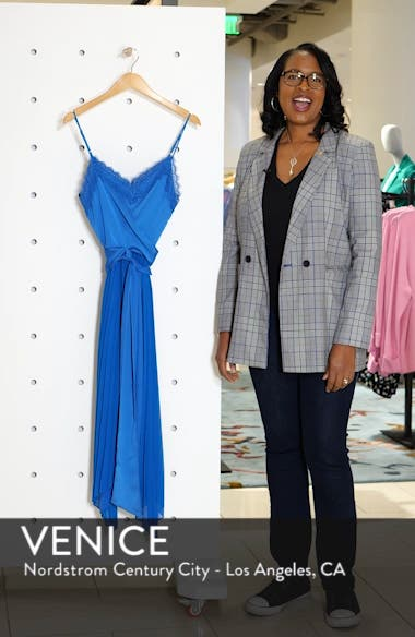 Pleated Tie Front Dress, sales video thumbnail