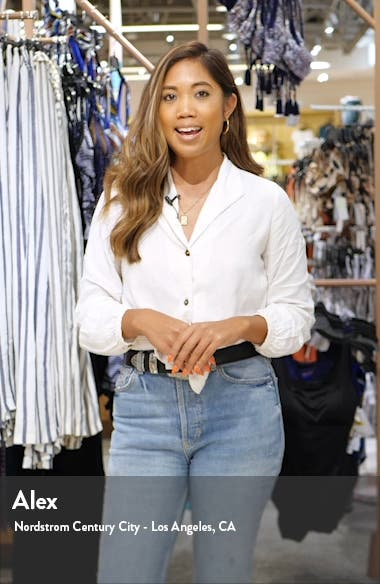 The Vanessa Cropped Wide Leg Jeans, sales video thumbnail