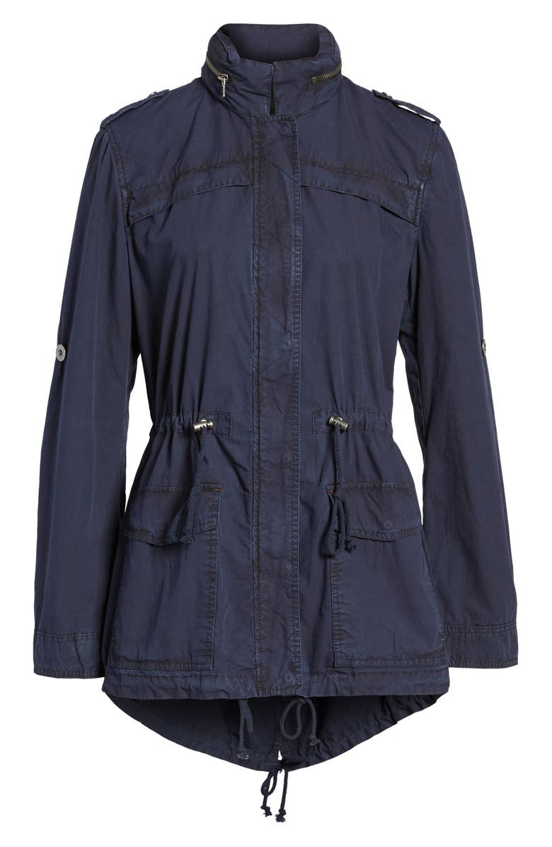 LEVI'S<SUP>®</SUP> Lightweight Cotton Hooded Utility Jacket, Main, color, 410