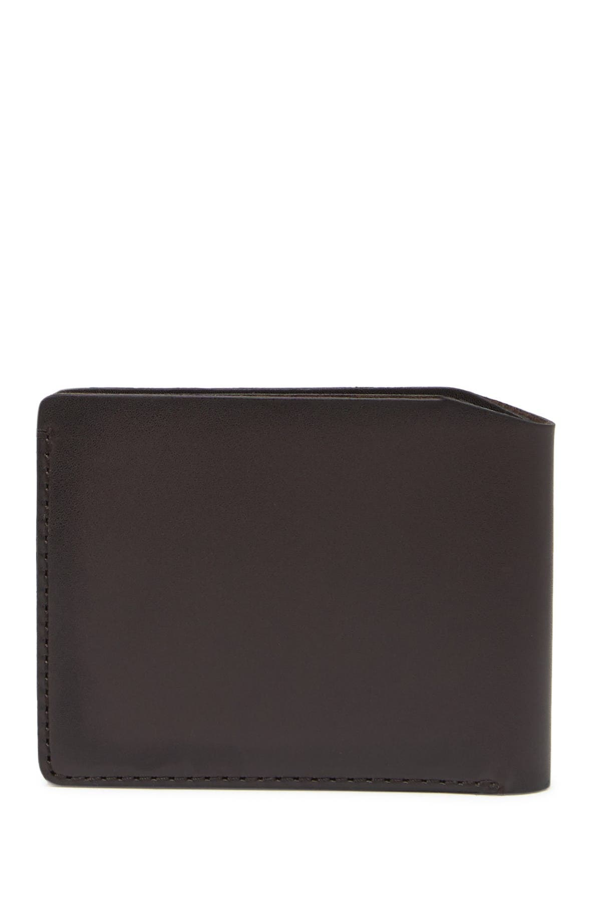 Image of John Varvatos Collection Unlined Leather Bilfold Wallet