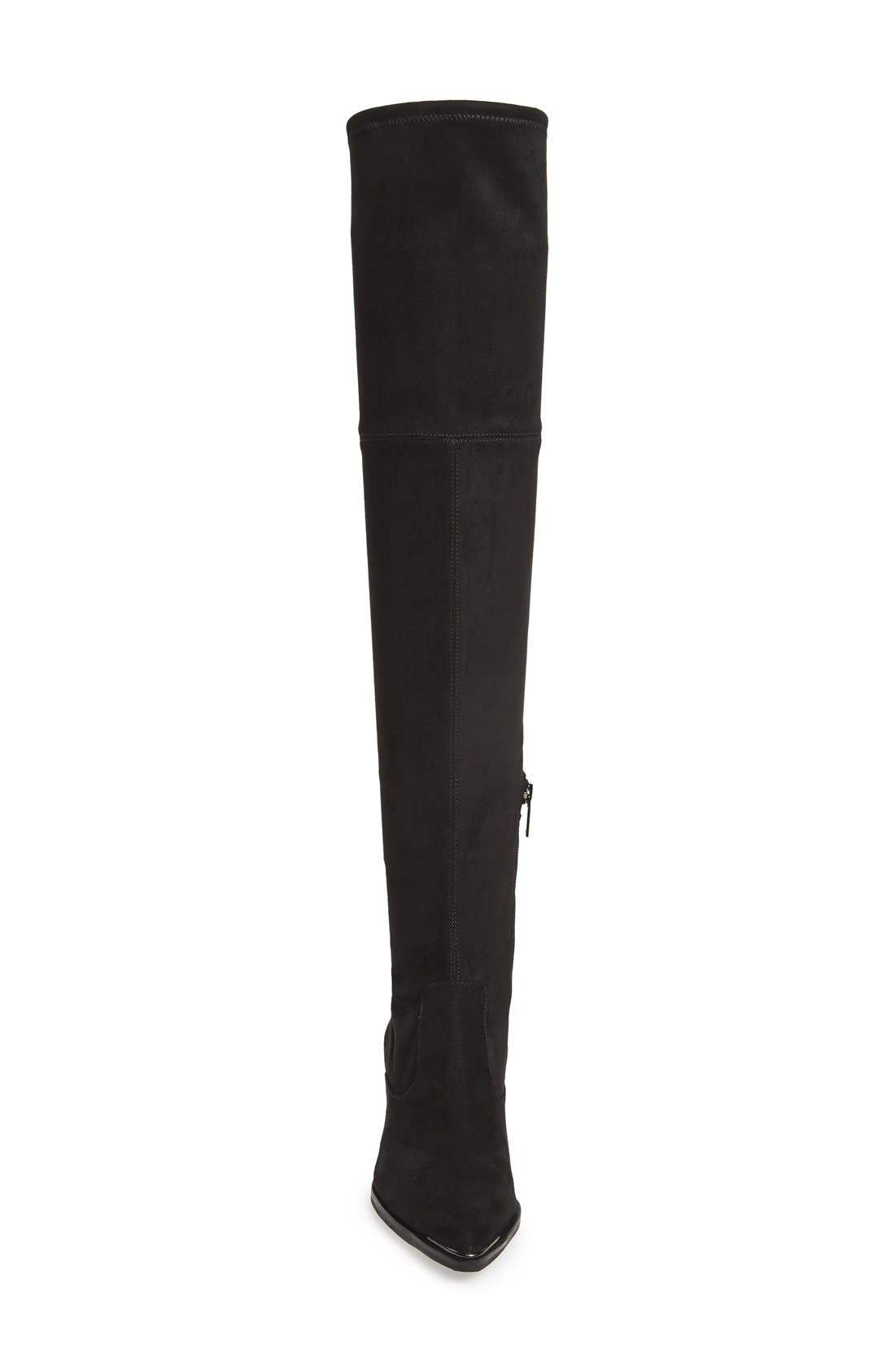 ,                             Yenna Over the Knee Boot,                             Alternate thumbnail 3, color,                             001