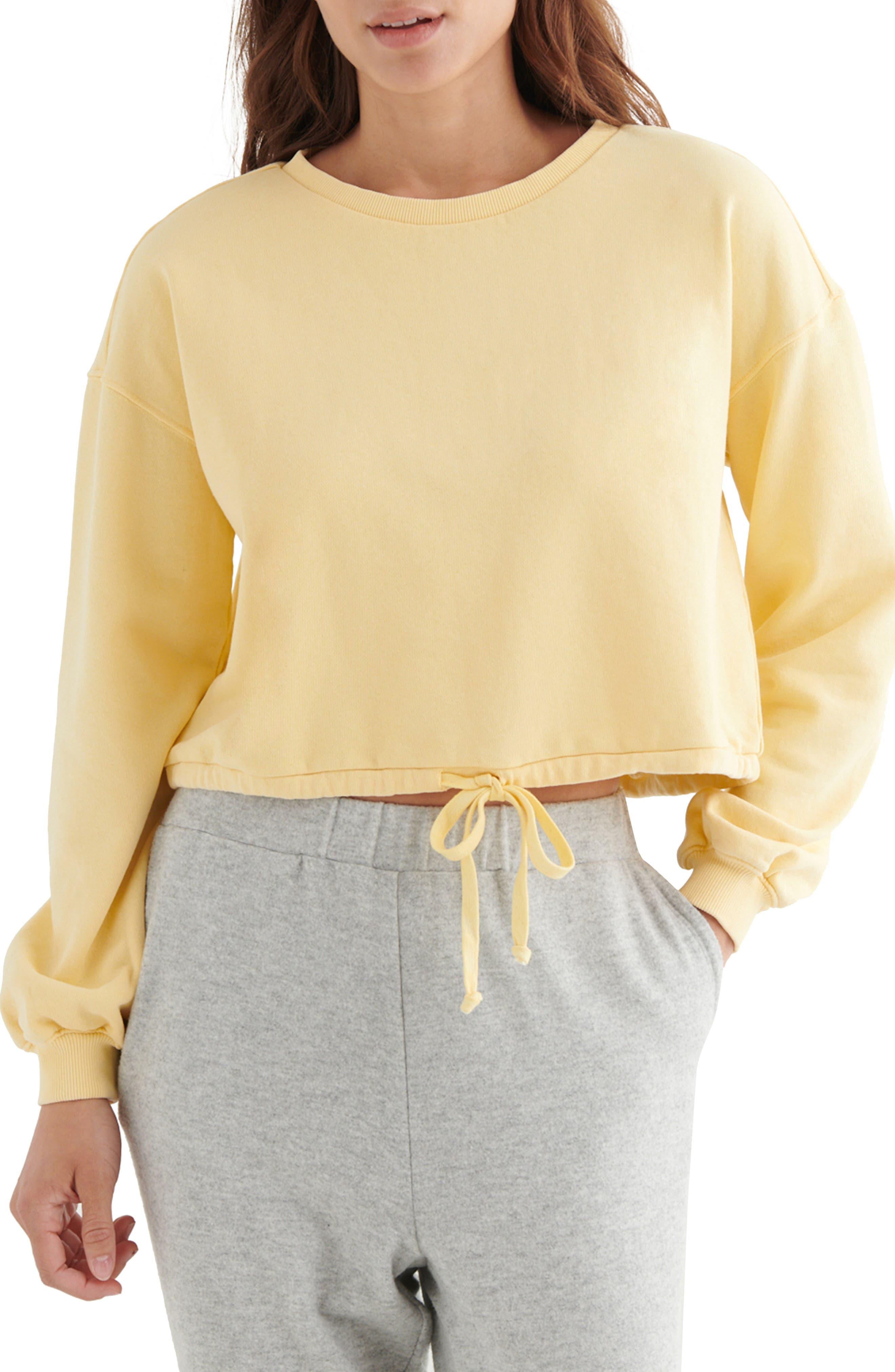 Cool For Summer Crop Sweatshirt