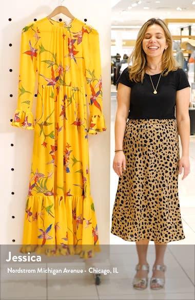 Summer Visconti Print Maxi Dress, sales video thumbnail