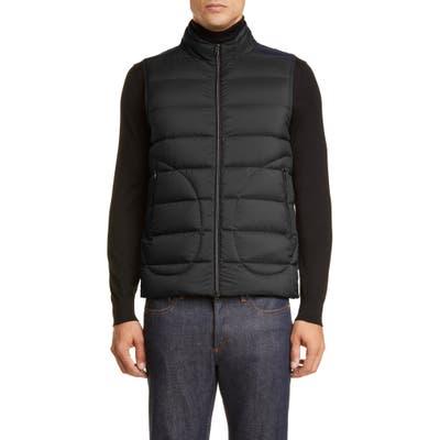 Herno Waterproof Down Puffer Vest, Black