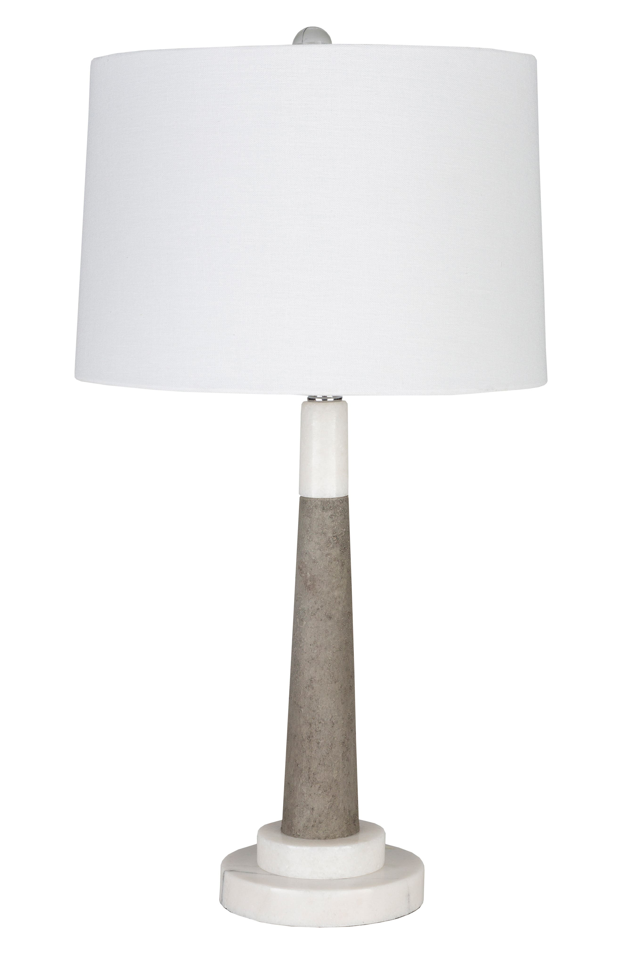 Surya Home Ellison Floor Lamp Size One Size  White
