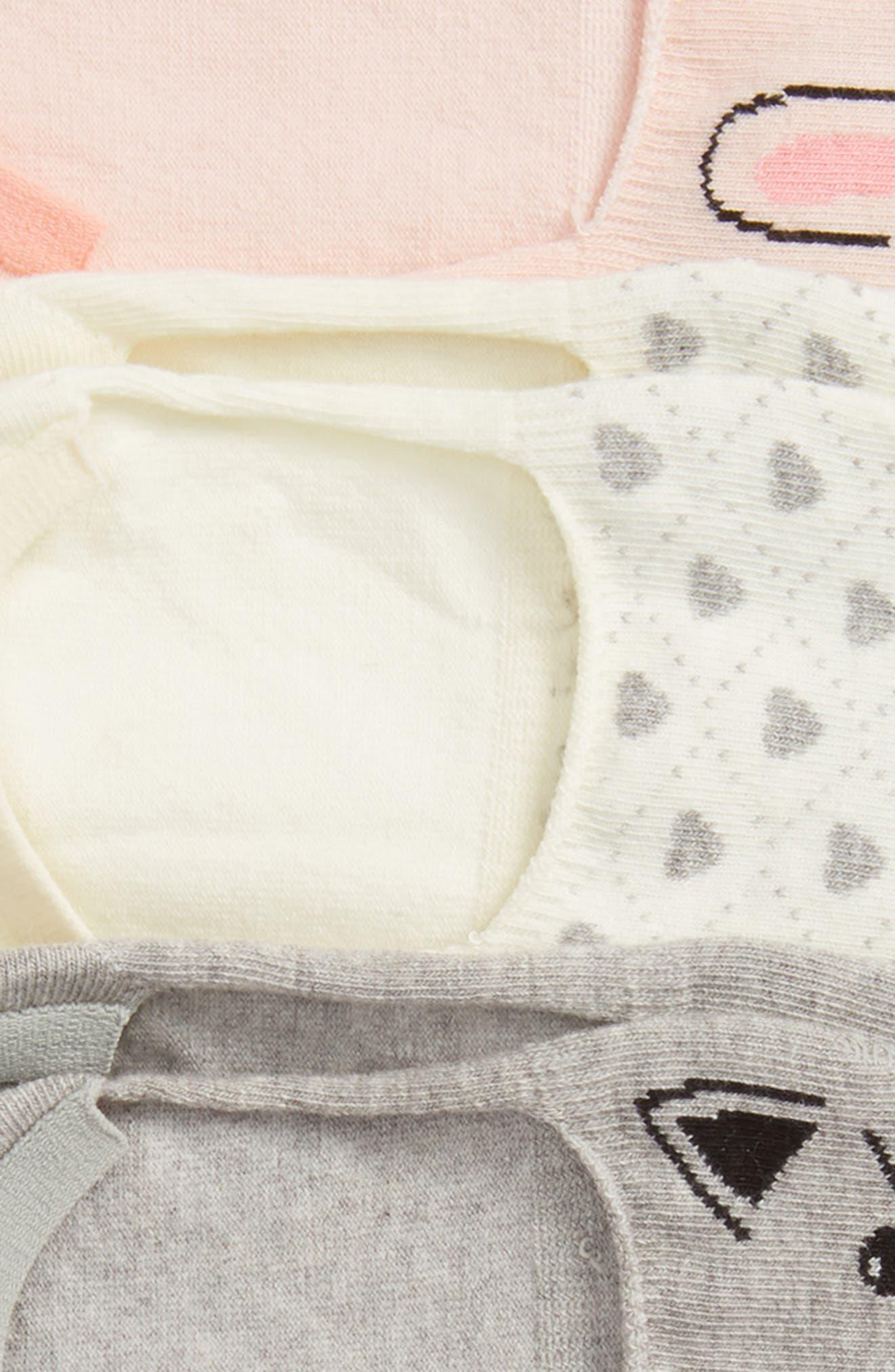 ,                             Critter 6-Pack Assorted Low Cut Socks,                             Alternate thumbnail 2, color,                             BEIGE WHISPERER CRITTERS
