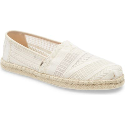 Toms Alpargata Slip-On, White