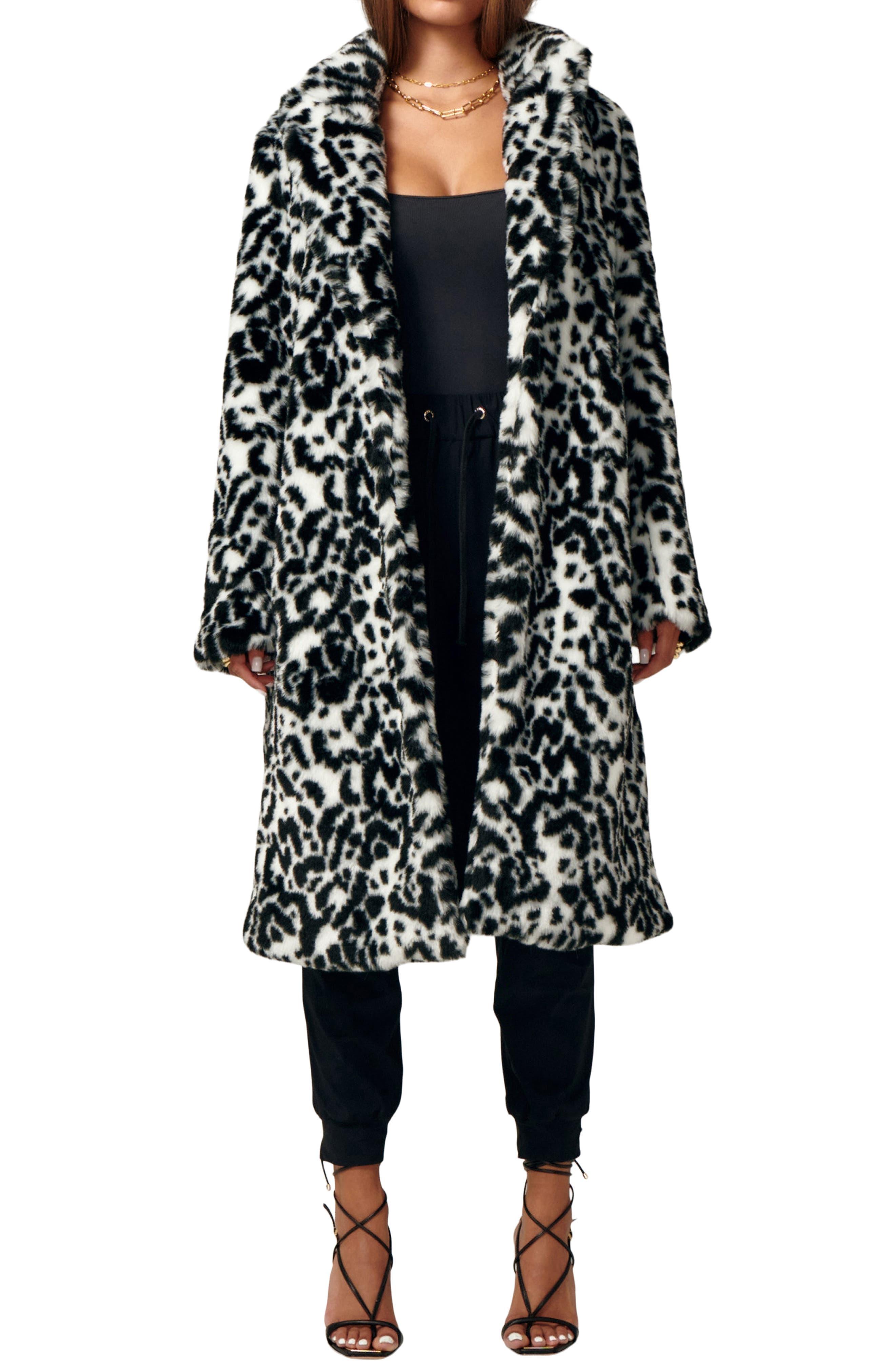 Amour Faux Fur Coat