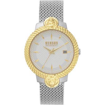 Versus Versace Mouffetard Mesh Band Watch,
