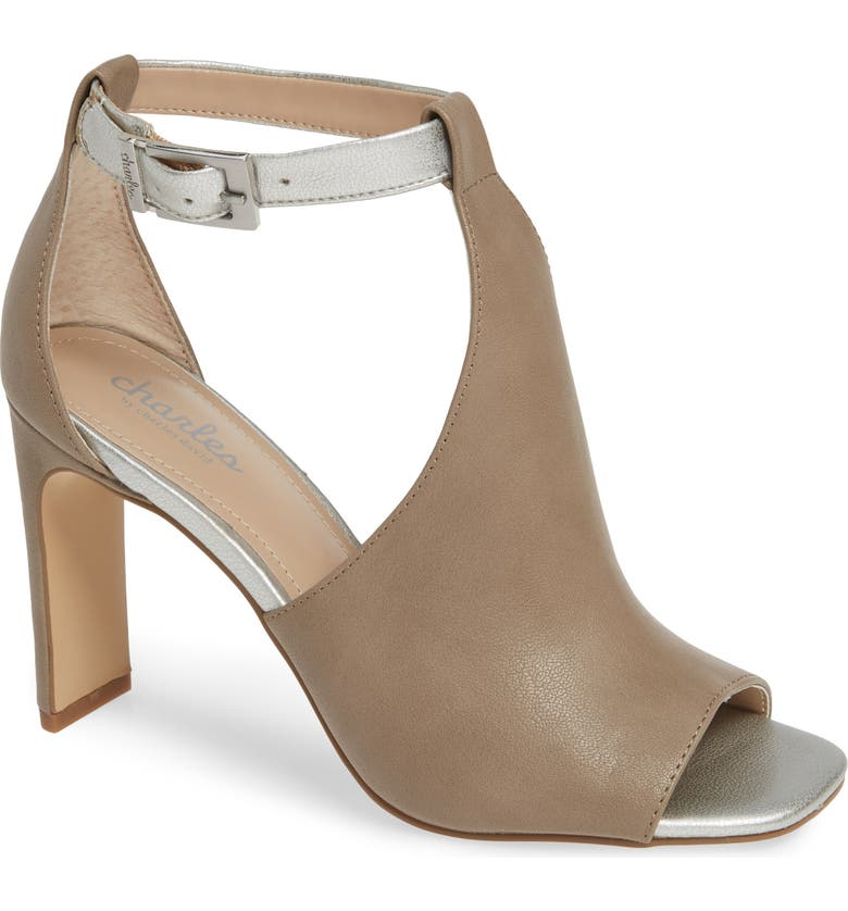 CHARLES BY CHARLES DAVID Gabe Sandal, Main, color, NUDE/ ROSE GOLD FAUX LEATHER