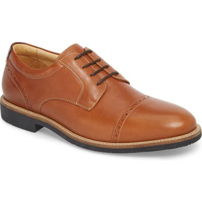 Johnston & Murphy Barlow Cap Toe Derby, Brown