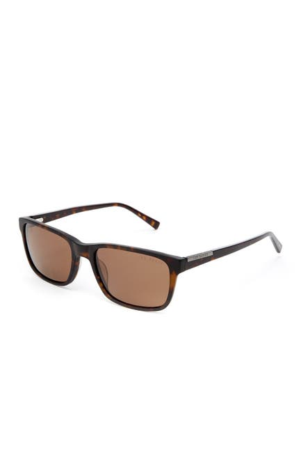 Image of Ted Baker London Full Rim Plastic Rectangle Sunglasses