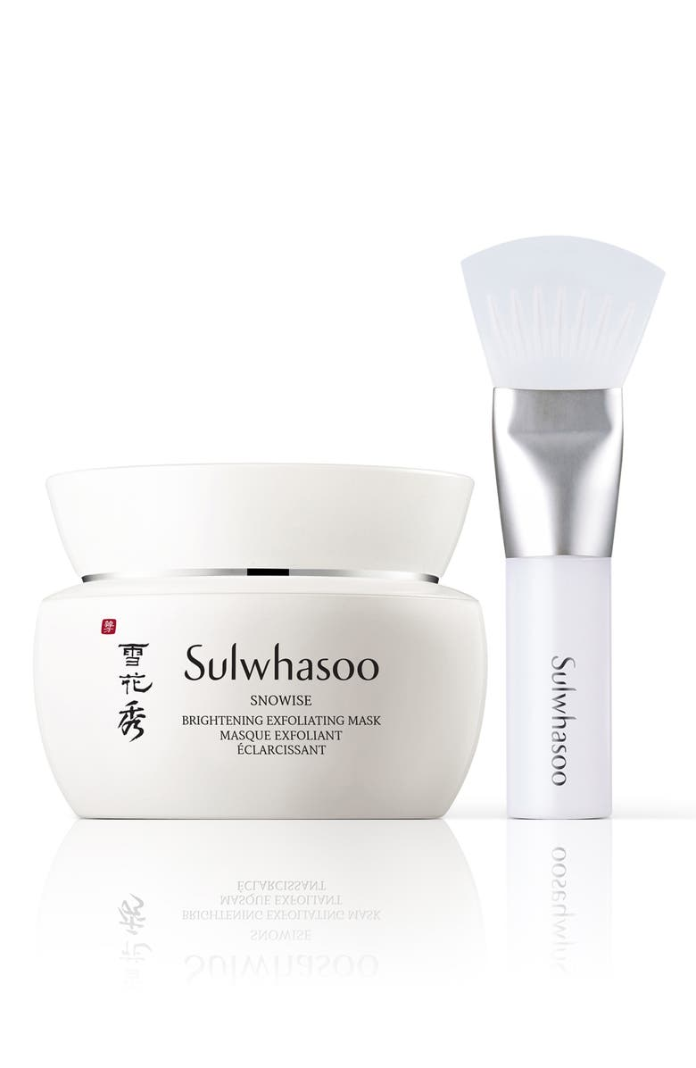 SULWHASOO Snowise Brightening Exfoliating Mask, Main, color, 000