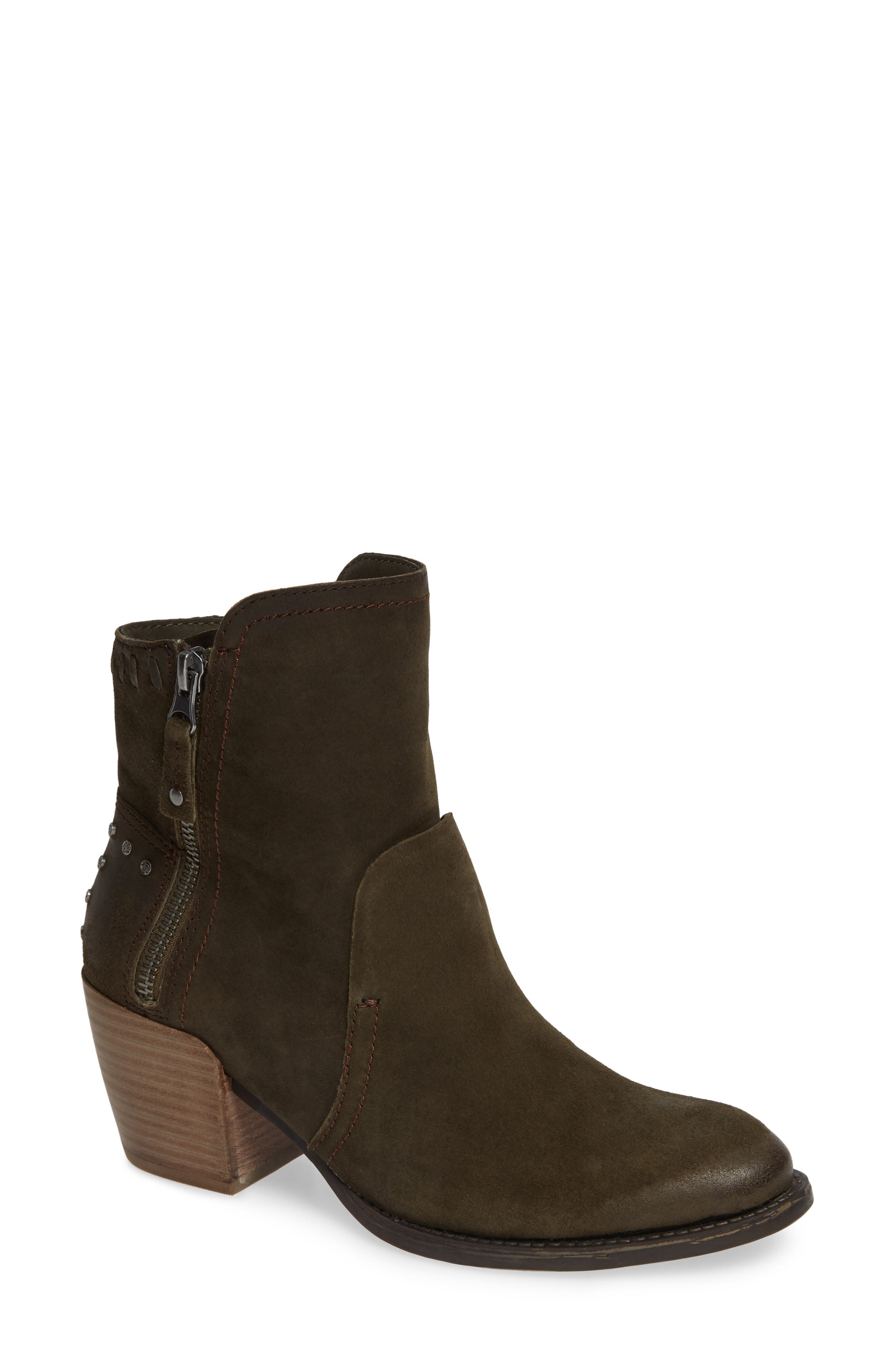 Otbt Red Eye Bootie, Grey