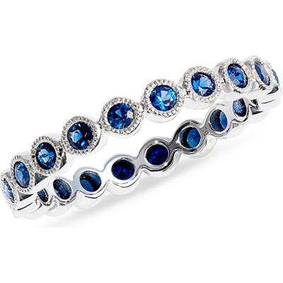 Bony Levy Feu Et Eau Sapphire Eternity Ring (Nordstrom Exclusive)