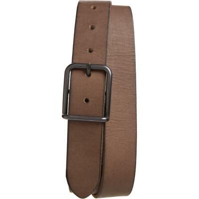 Allsaints Leather Belt, Grey