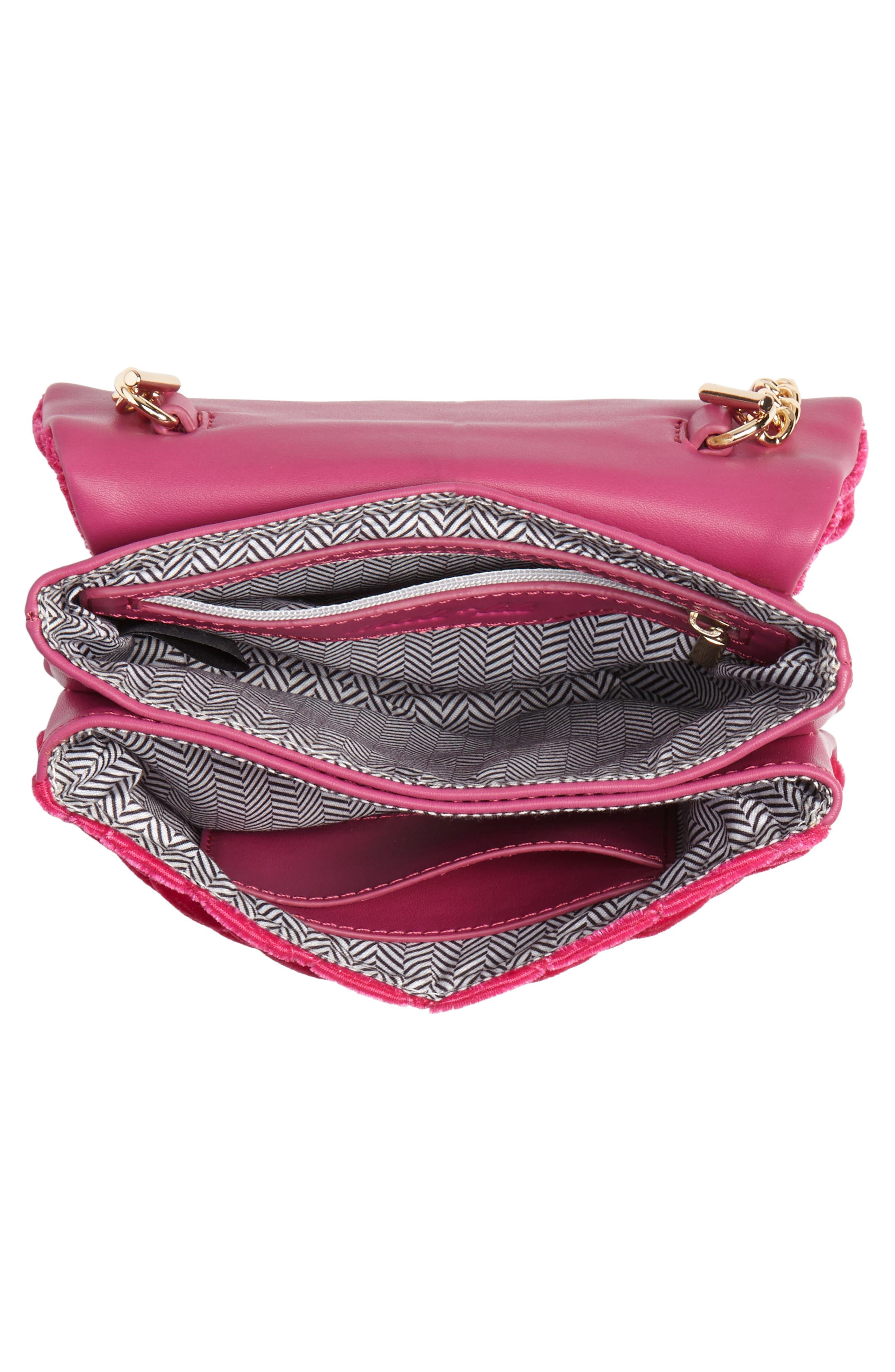 ,                             Nikki Quilted Velvet Belt Bag,                             Alternate thumbnail 15, color,                             650