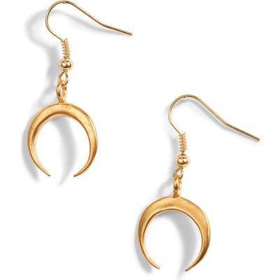 Ten79La Crescent Moon Earrings