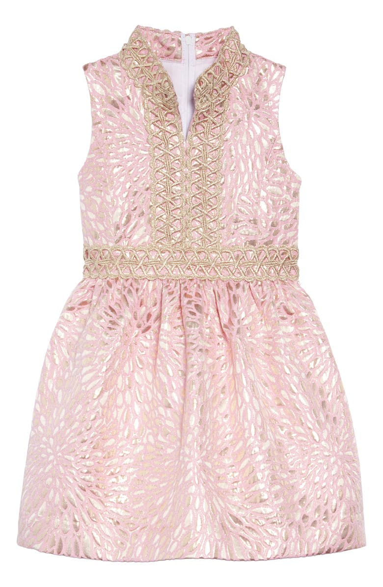 Excellent Lilly Pulitzer Mini Franci Brocade Dress Toddler Girls Alphanode Cool Chair Designs And Ideas Alphanodeonline