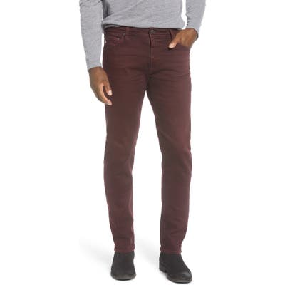 Ag Tellis Slim Fit Jeans, Red