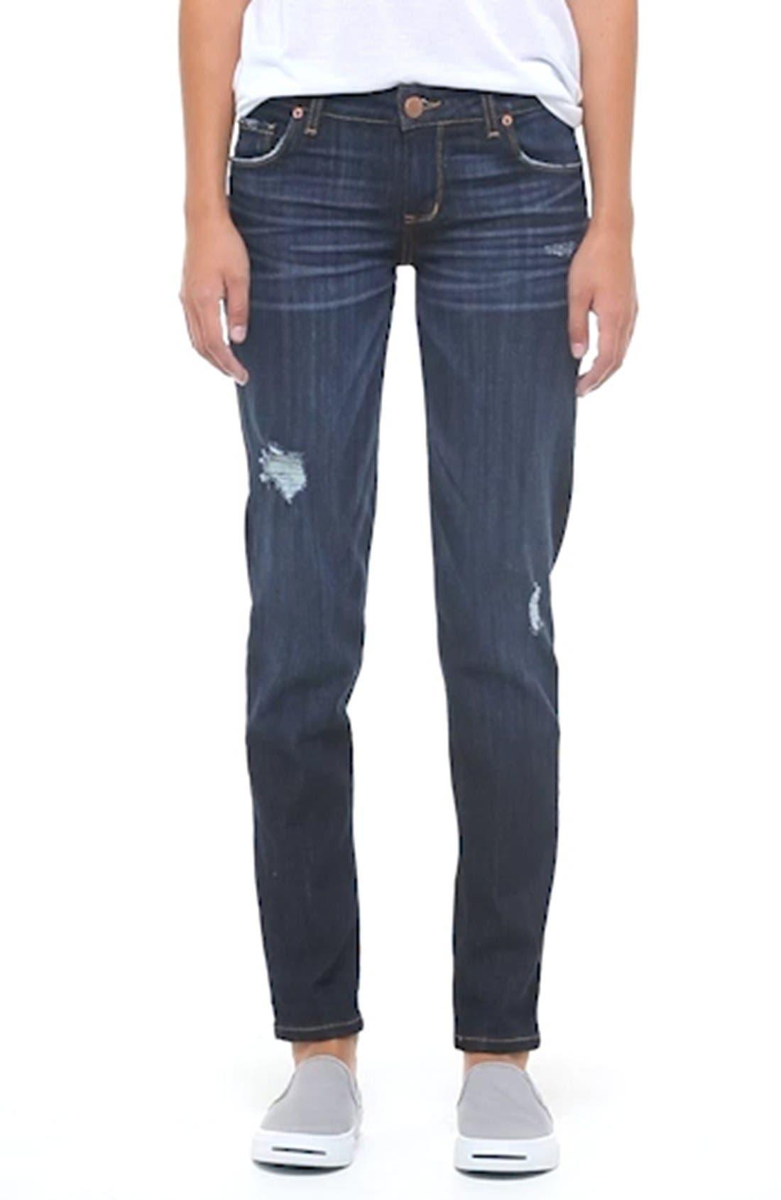 ,                             'Joey' Boyfriend Jeans,                             Alternate thumbnail 8, color,                             404