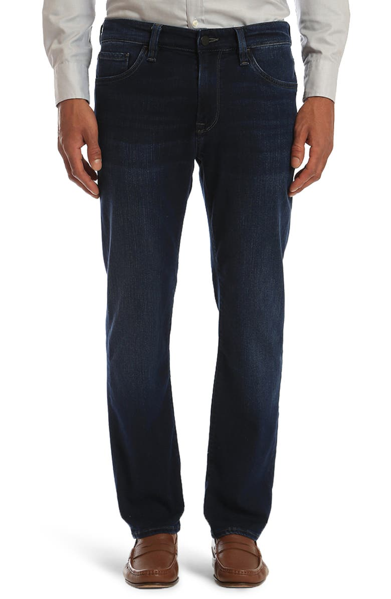 34 HERITAGE Courage Straight Leg Jeans, Main, color, DARK ULTRA