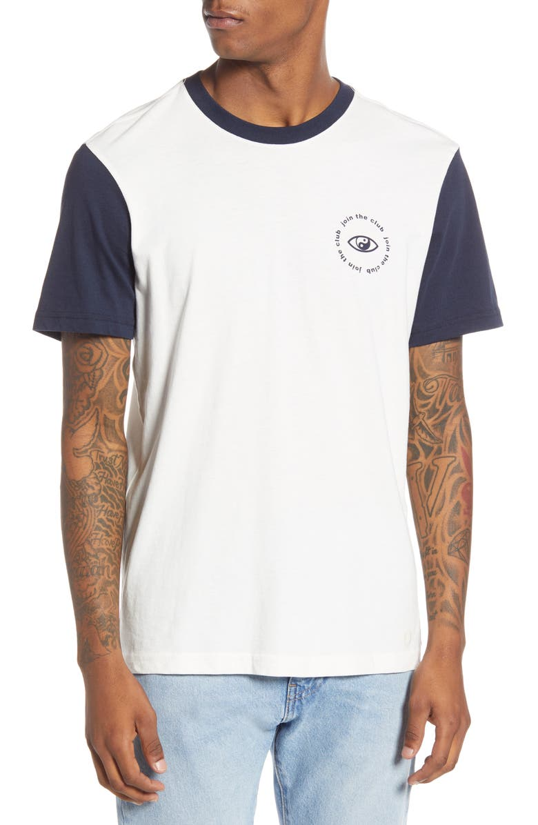 STANCE Yang Time Graphic T-Shirt, Main, color, CANVAS