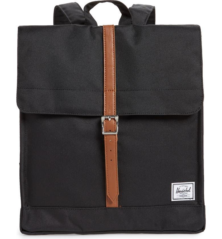 HERSCHEL SUPPLY CO. City Mid Volume Backpack, Main, color, 001