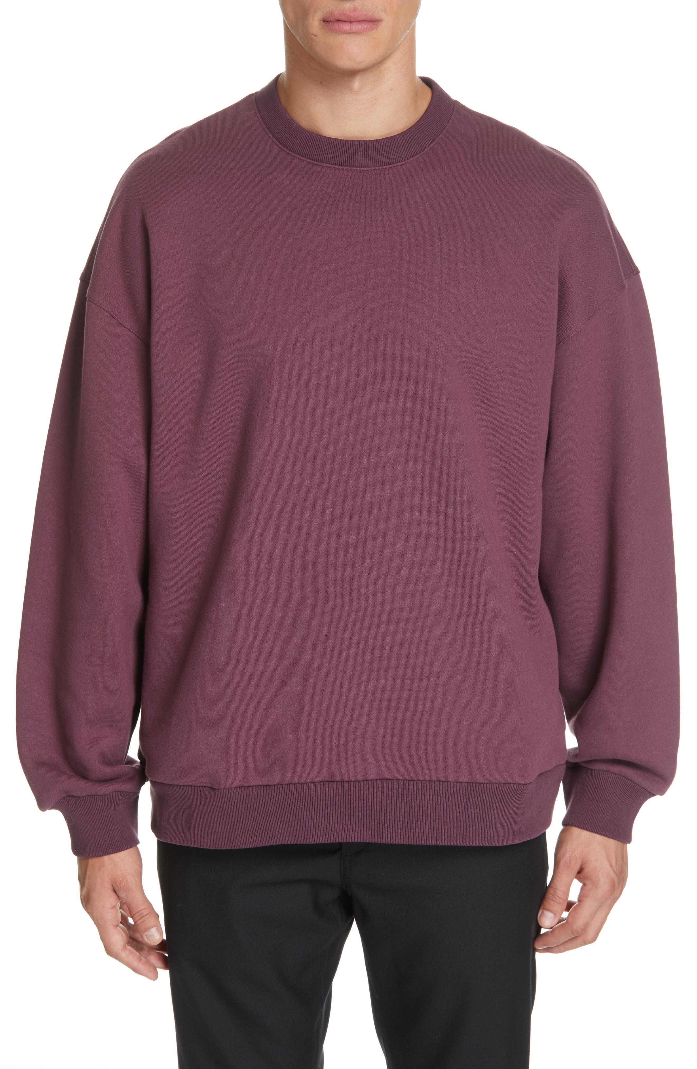 ,                             Oversize Crewneck Sweatshirt,                             Main thumbnail 7, color,                             930