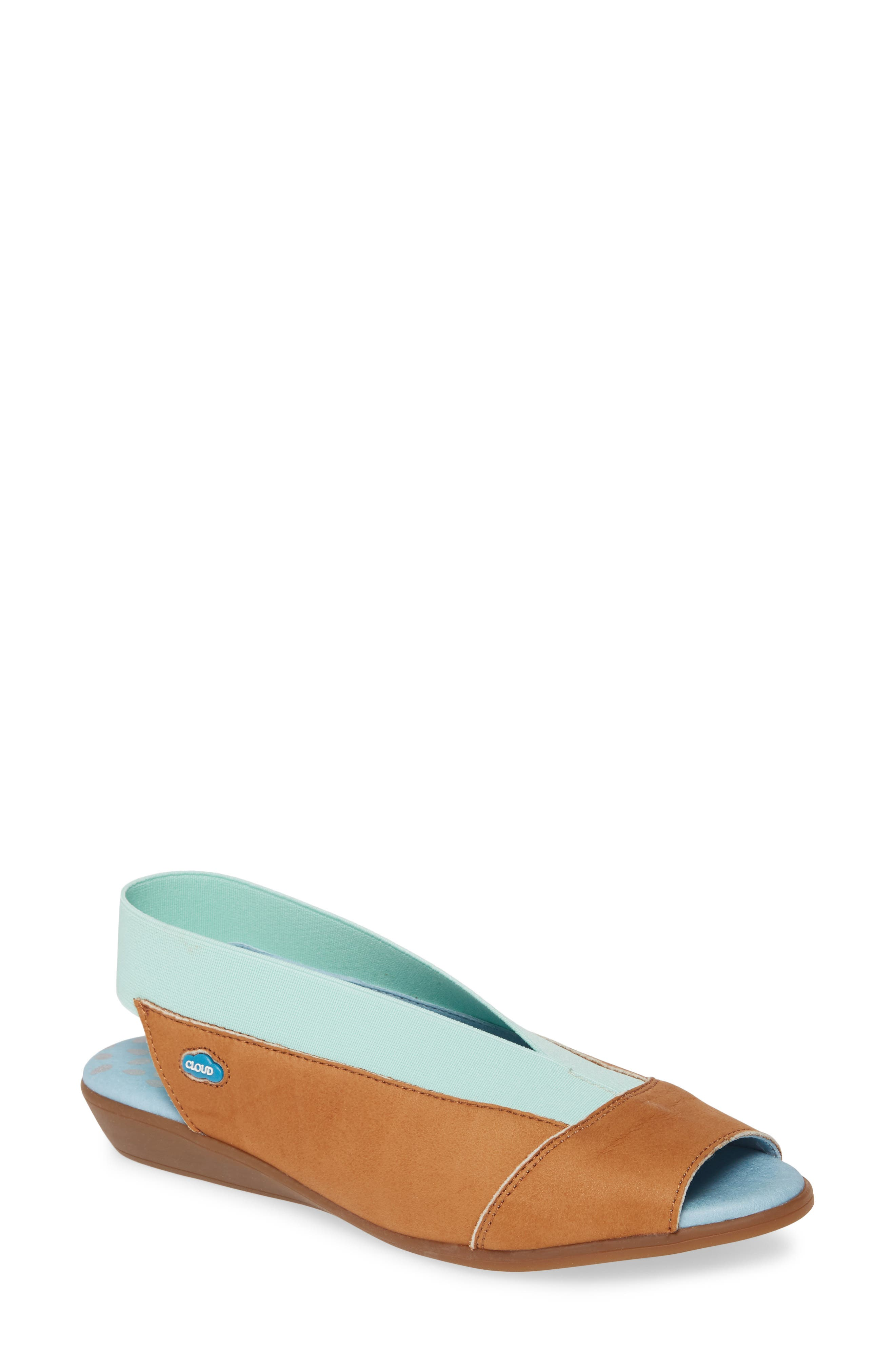 CLOUD Caliber Slingback Sandal (Women)