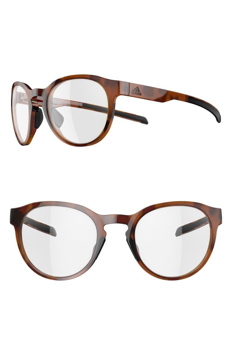 ADIDAS Proshift 52mm Polarized Sunglasses, Main, color, BROWN HAVANA/ VARIO