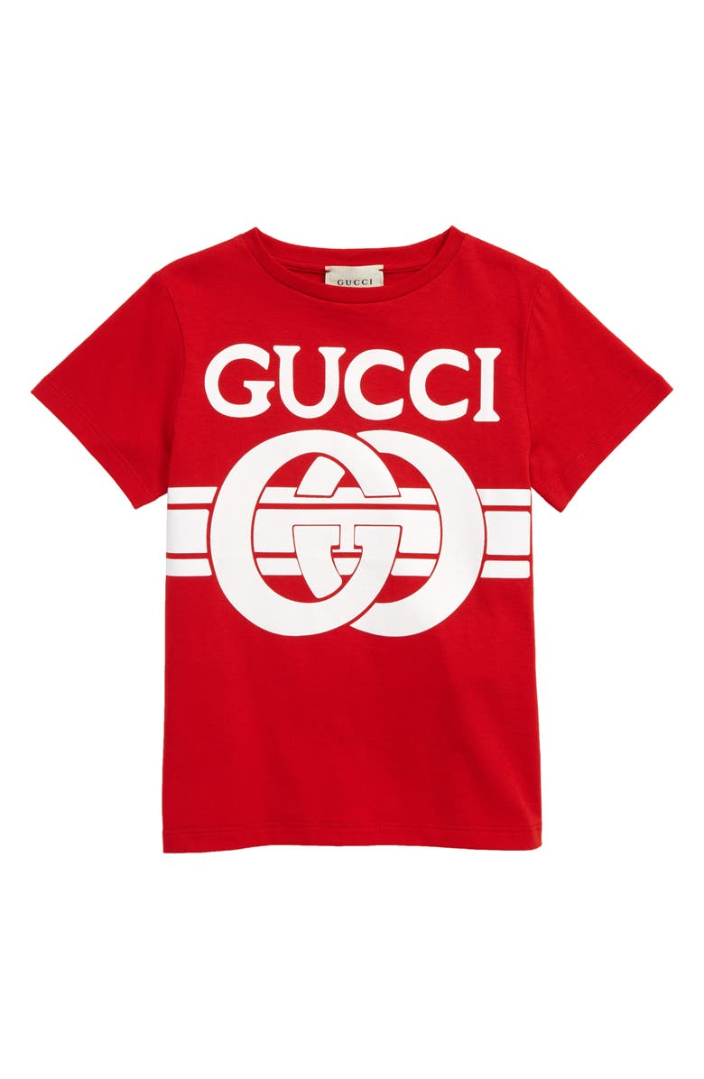 GUCCI Graphic Tee, Main, color, 600