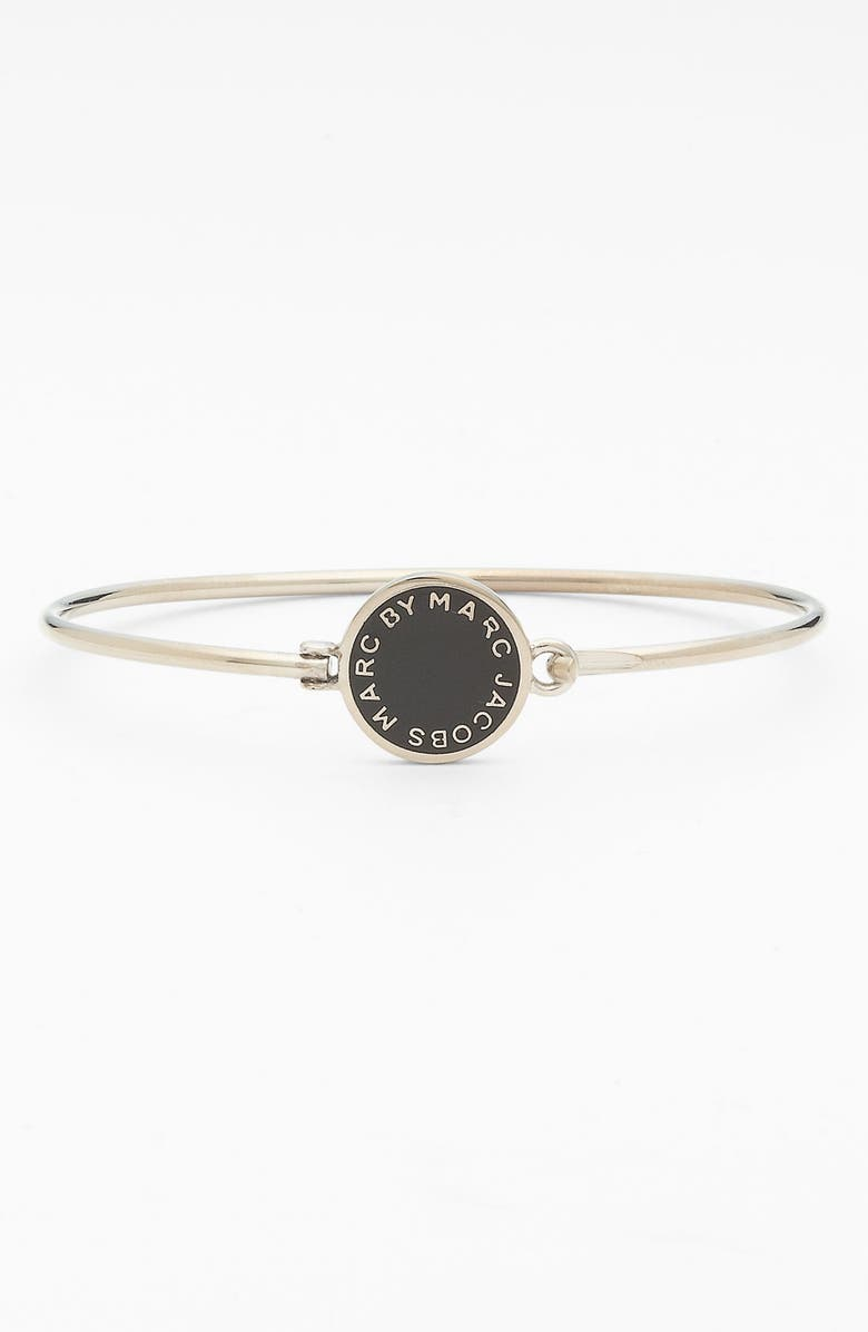 MARC BY MARC JACOBS 'Classic Marc' Disc Skinny Bangle, Main, color, 001