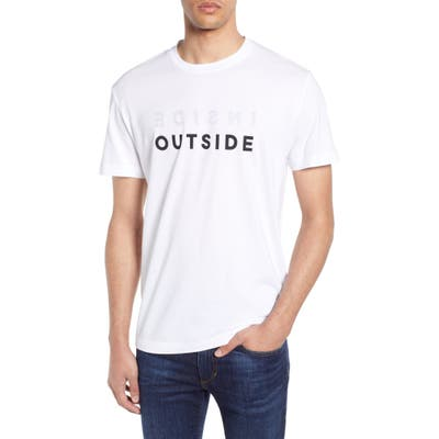 French Connection Inside Outside T-Shirt, Black