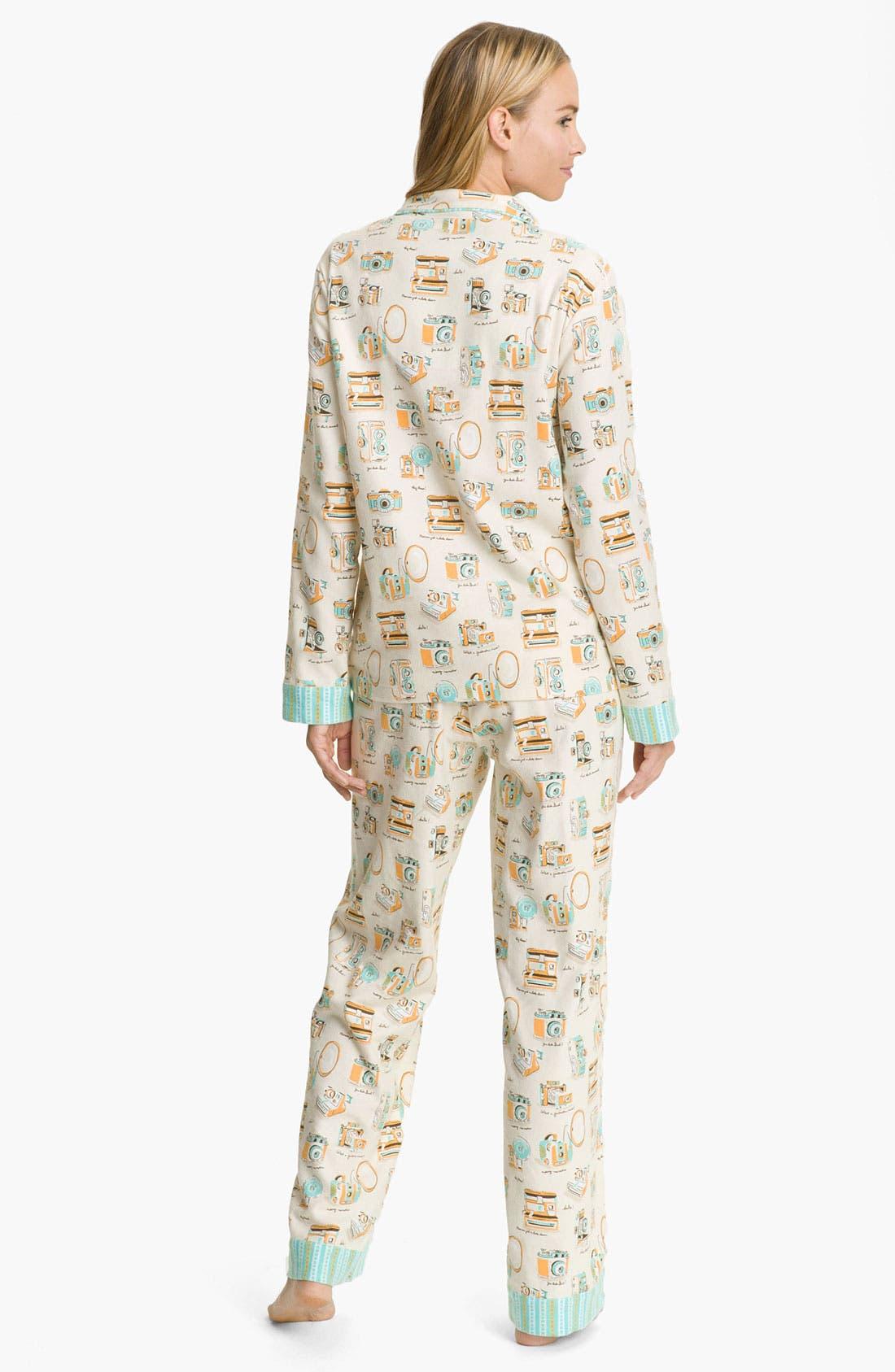 ,                             Flannel Pajamas,                             Alternate thumbnail 107, color,                             900