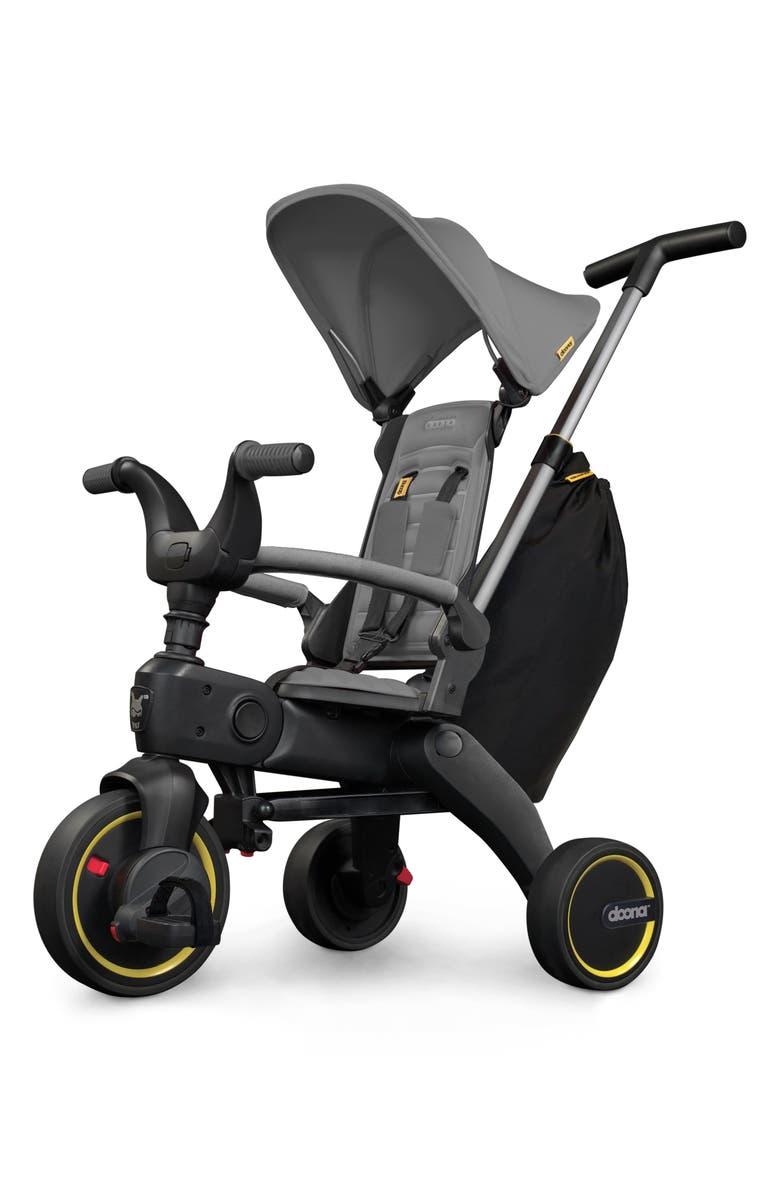 DOONA Liki S3 Convertible Stroller Trike, Main, color, GREY HOUND