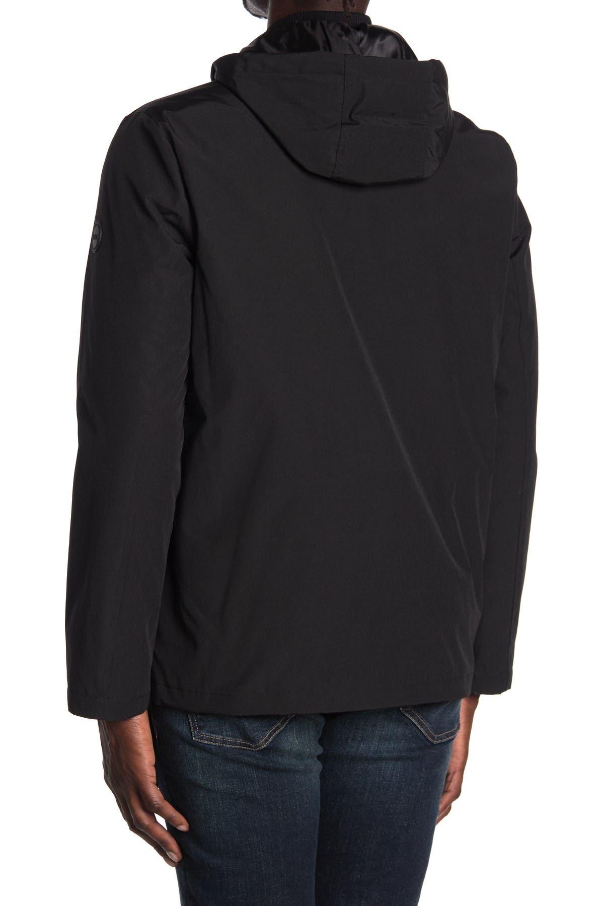 Michael Kors Hooded Zip Front Jacket