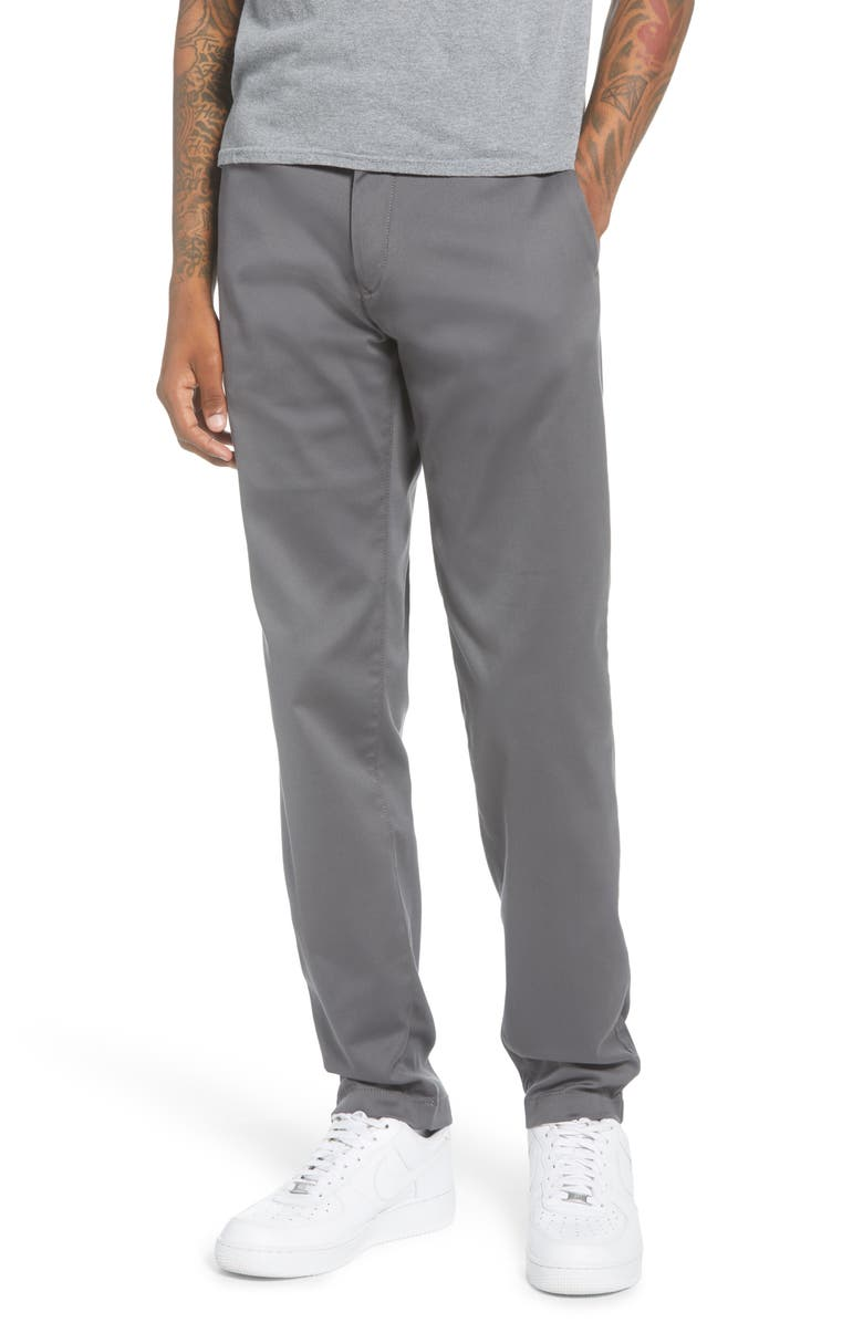 TOMMY HILFIGER Tapered Tech Twill Slim Fit Chino Pants, Main, color, BLUE