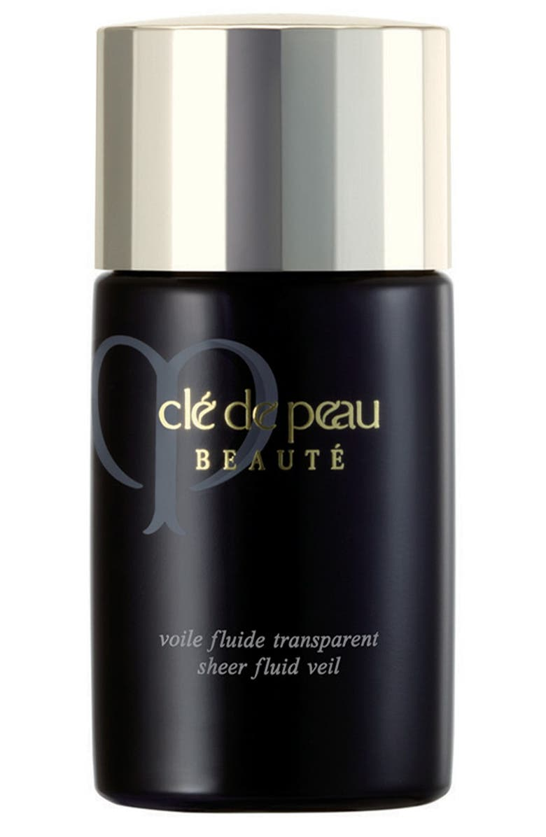 CLÉ DE PEAU BEAUTÉ Sheer Fluid Veil SPF 21, Main, color, 000