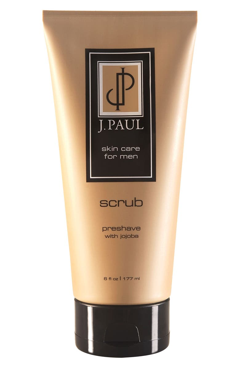 J. PAUL Skincare 'Scrub' Preshave, Main, color, 000