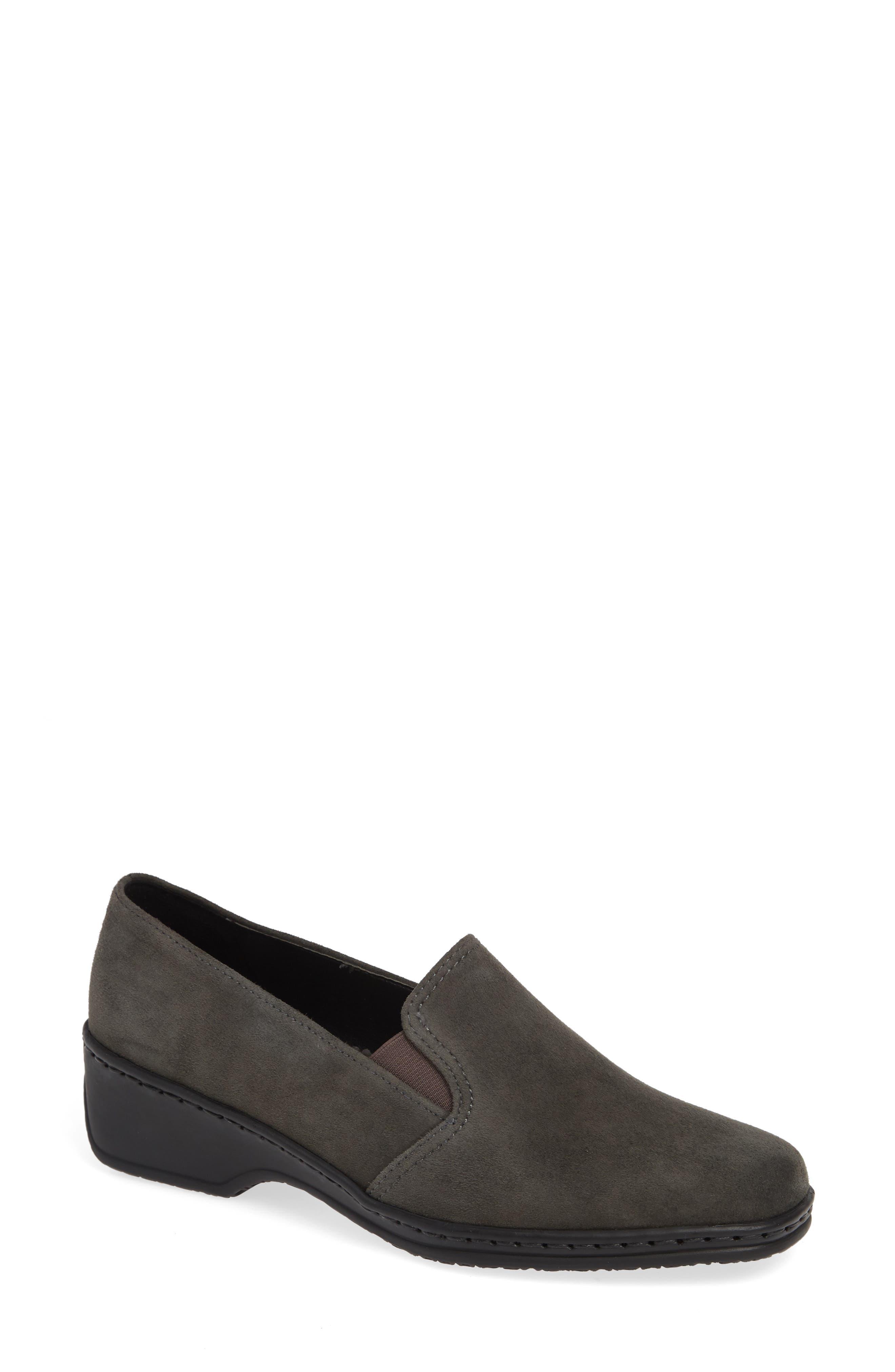 Ara Rabina Wedge Loafer, Grey