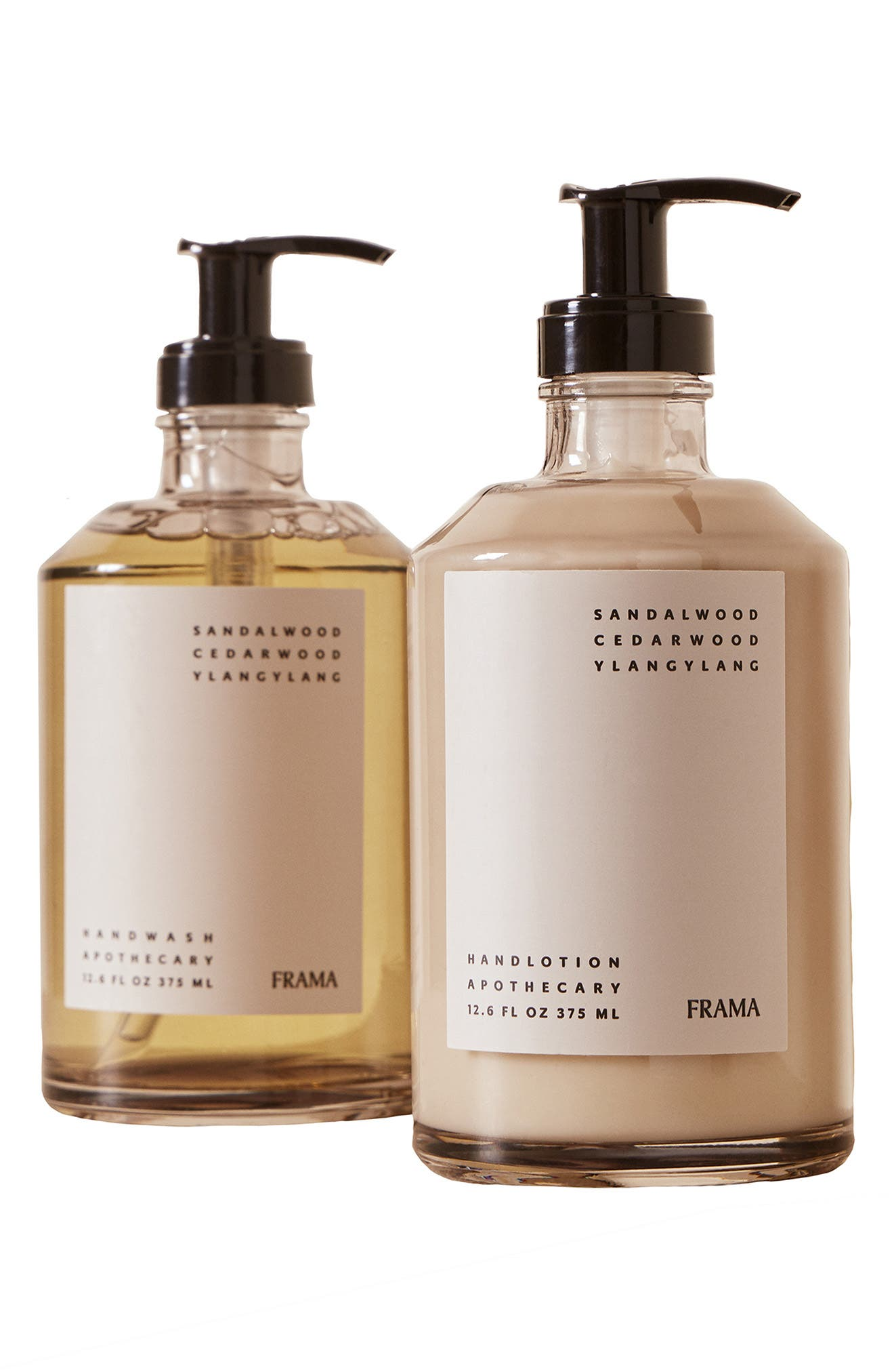 X Frama Apothecary Hand Wash & Lotion Set