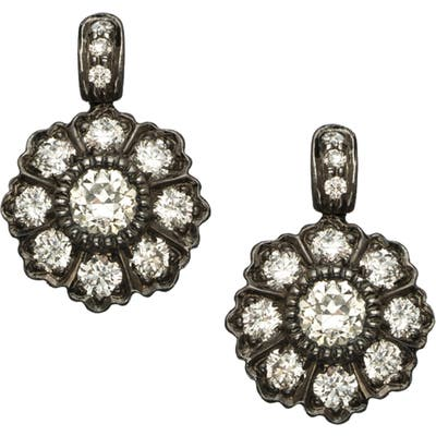 Sethi Couture Ivy Mine Rose Cut Diamond Drop Earring