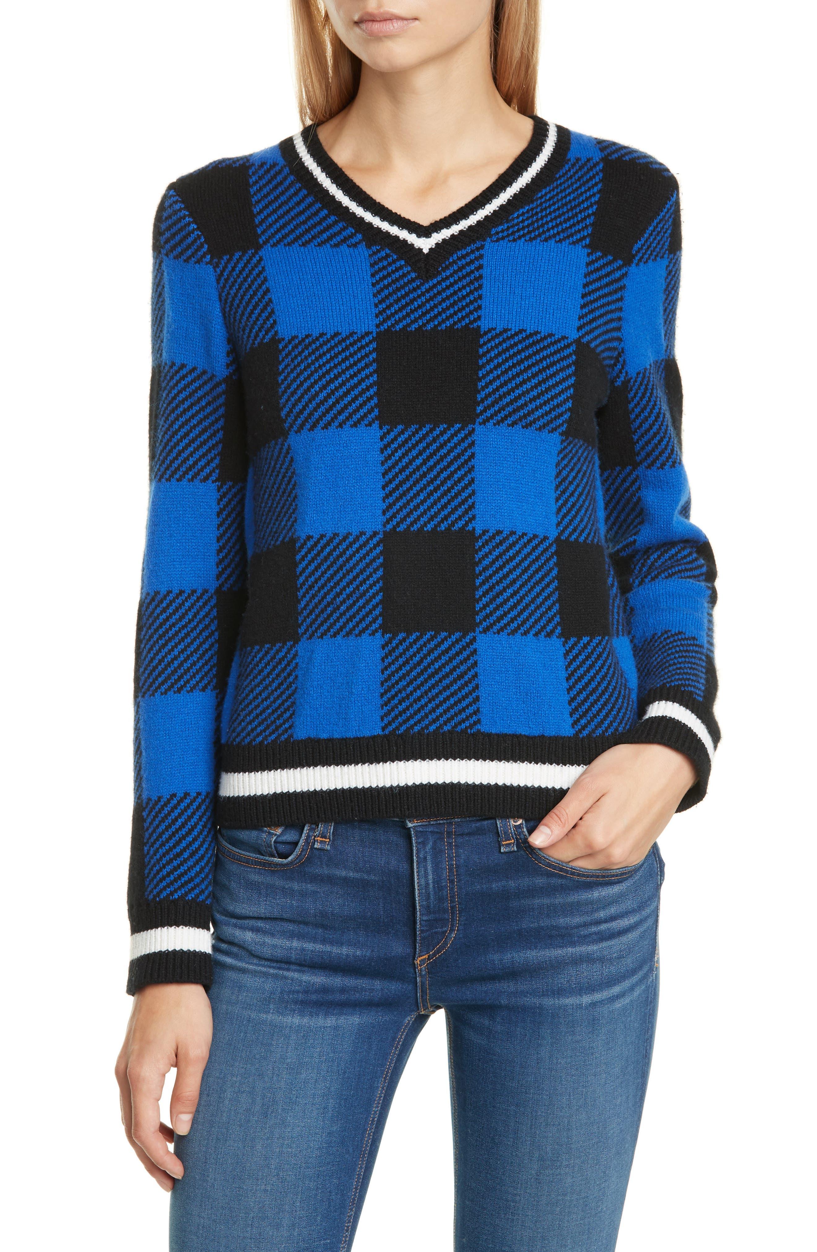 Image of Rag & Bone Gabby V-Neck Sweater
