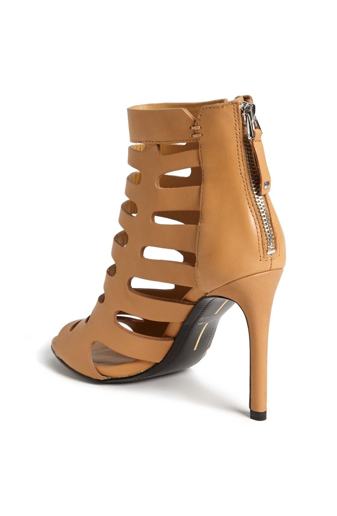 ,                             'Hettie' Leather Sandal,                             Alternate thumbnail 9, color,                             290